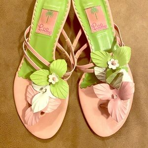 Lilly Pulitzer 9 shoes vintage